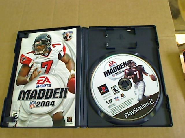 PLAYSTATION 2 MADDEN 2004