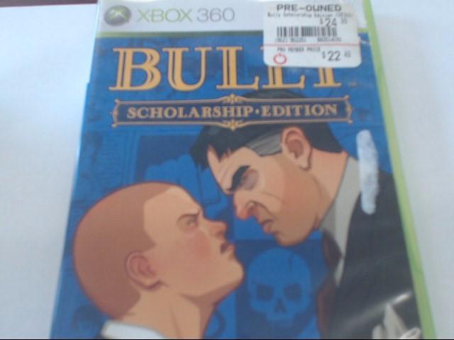 XBOX 360 BULLY SCHOLASTIC ED