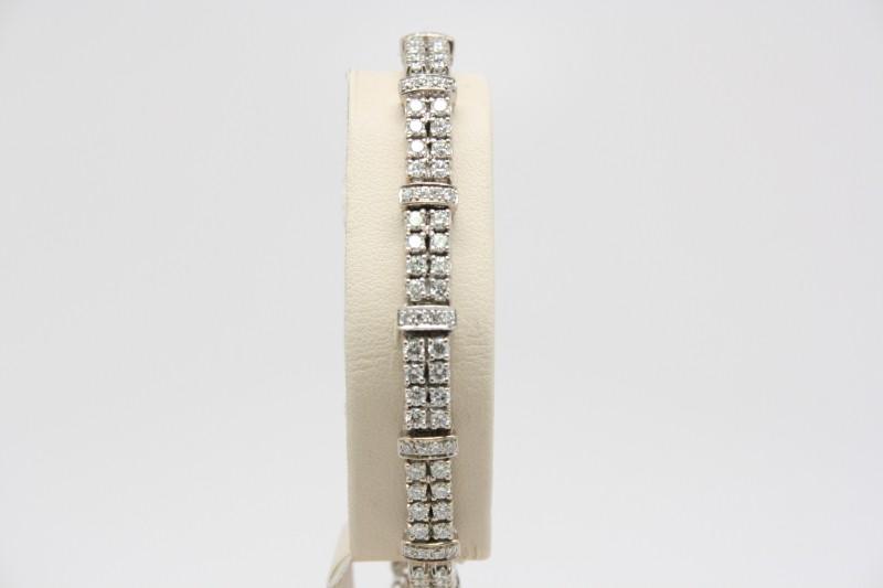 DIAMOND TENNIS BRACELET 14K WG