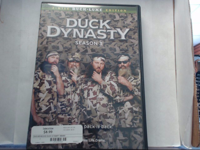 DUCK DYNASTY SEASON 3 DUCK-LUXE EDITION (DVD)