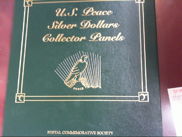 US PEACE DOLLARS COLLECTORS PANE