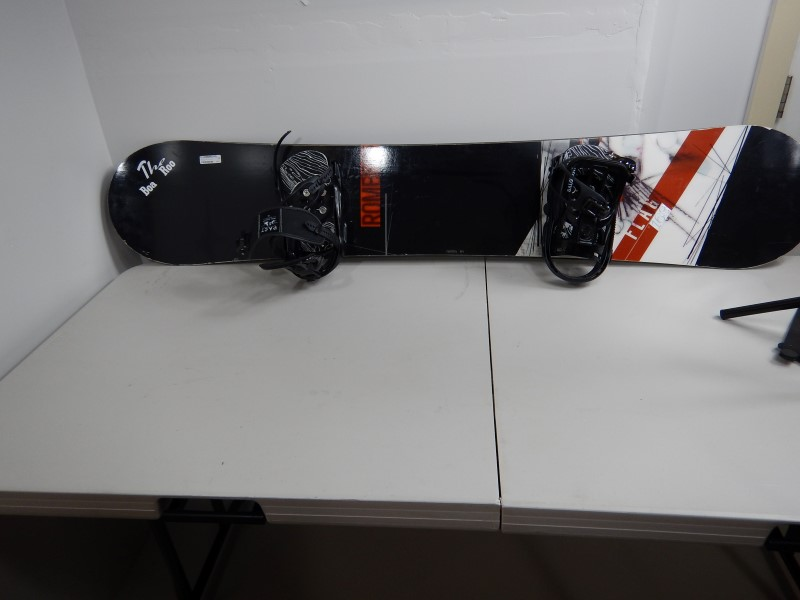 ROME 2012 163CM LOFI ROCKER SNOWBOARD WITH PACT SALOMAN BINDINGS