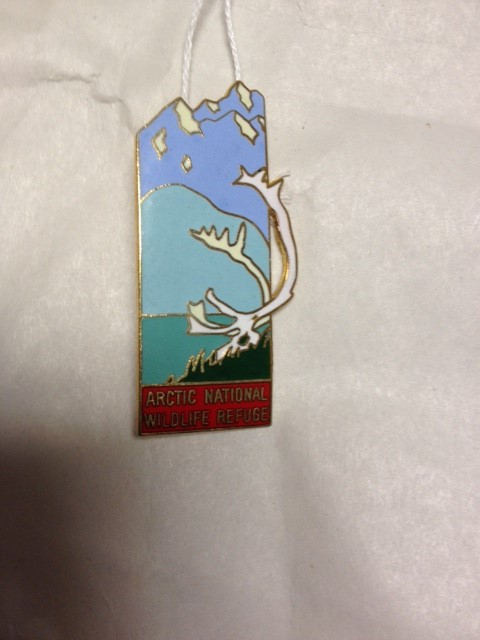 ARCTIC NATIONAL WILDLIFE REFUGE PIN 1984