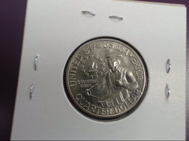 US BICENTENNIAL (1776-1976) QUARTER, GOOD CONDITION, CLAD METAL