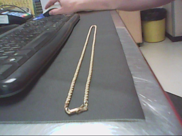 Gold Rope Chain 10K Yellow Gold 11.4g