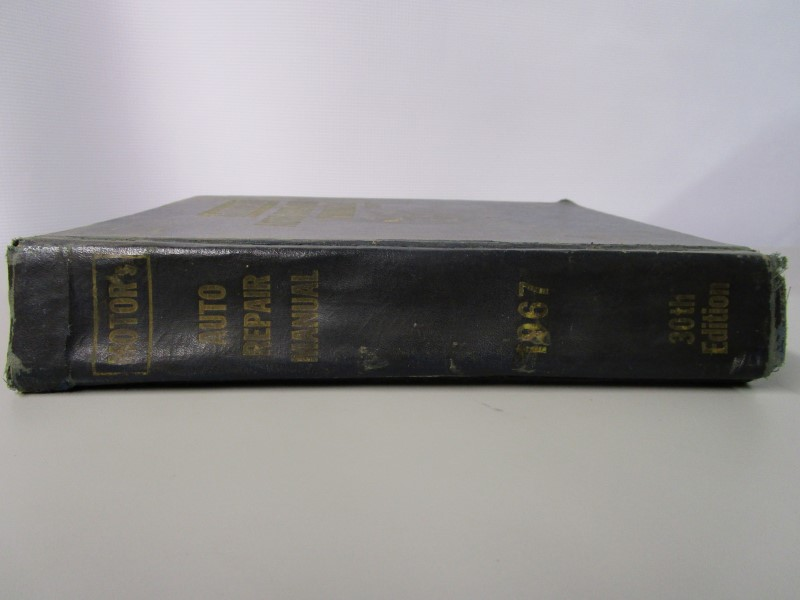 MOTOR'S AUTO REPAIR MANUAL 1967, 30TH EDITION, FIRST PRINTING