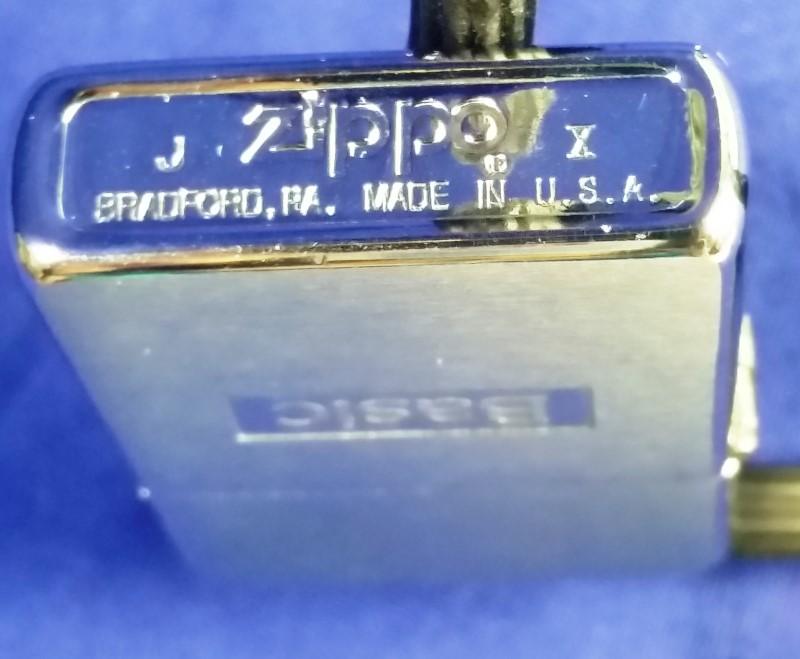 ZIPPOS BASIC LIGHTER