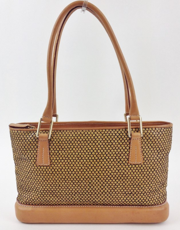 KROLL  LEATHER SMALL TOTE