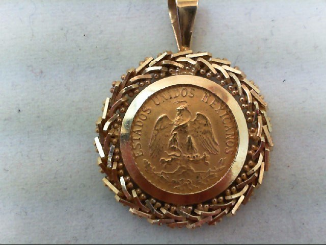 Gold Pendant 24K Yellow Gold 3.8g