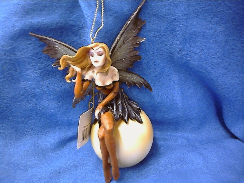 FIGURINES COLLECTIBLES NEW MISC NEW MISC GEORGE S. CHEN 91166; BROWN FAIRY ORNAM