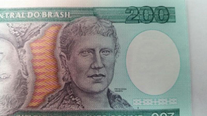 CENTRAL DO BRASIL  World 200 DUZENTOS CRUZEIROS