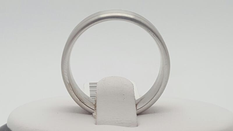 Gent's Gold Ring 14K White Gold 8.9g Size:9