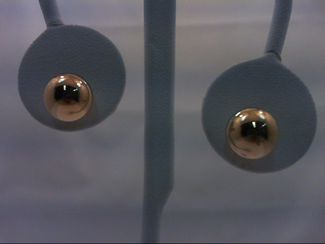 Gold Earrings 14K Yellow Gold 0.7g