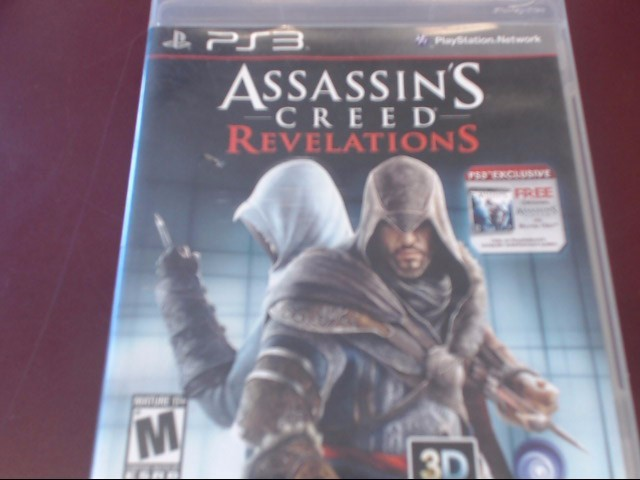 SONY PS3 ASSASSIN'S CREED REVELATIONS