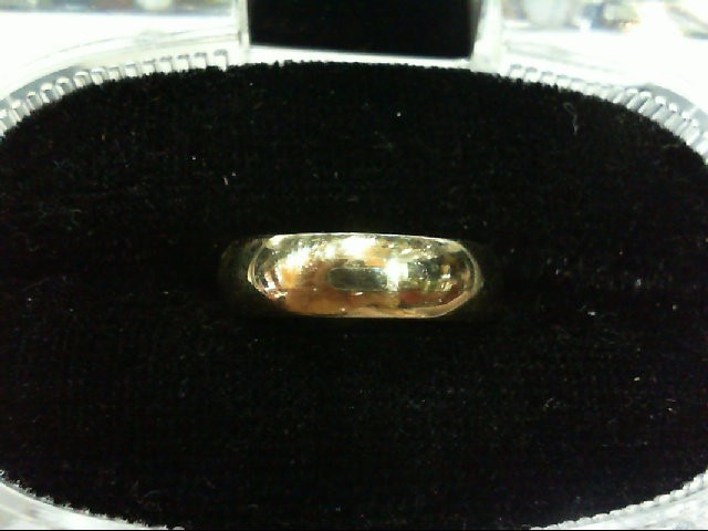 Lady's Gold Wedding Band 14K White Gold 3.6g