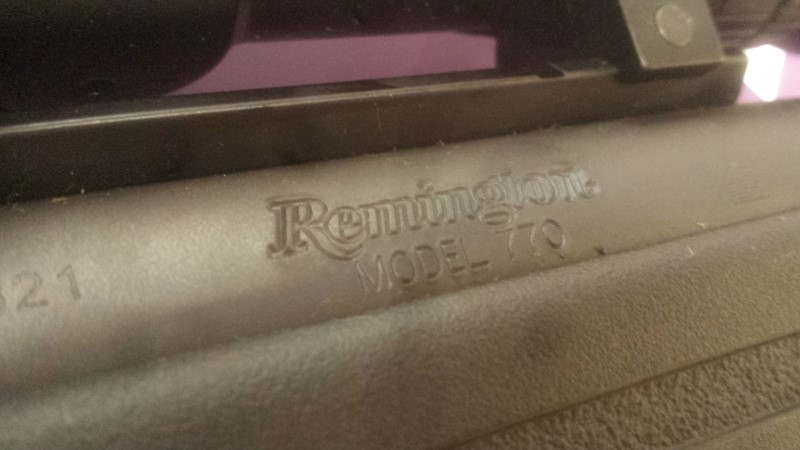 REMINGTON FIREARMS RIFLE 770