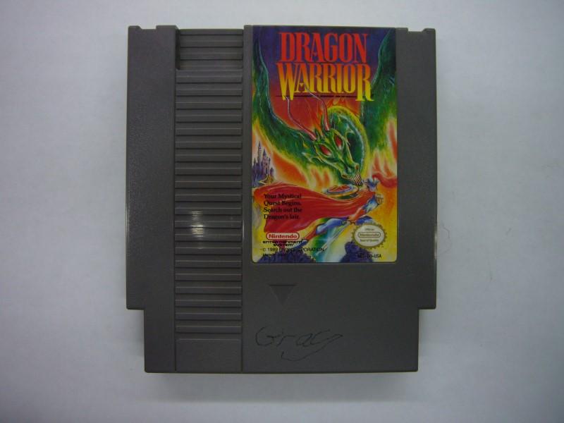 NINTENDO NES Game DRAGON WARRIOR *CARTRIDGE ONLY*