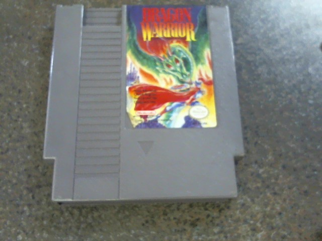 NINTENDO NES DRAGON WARRIOR