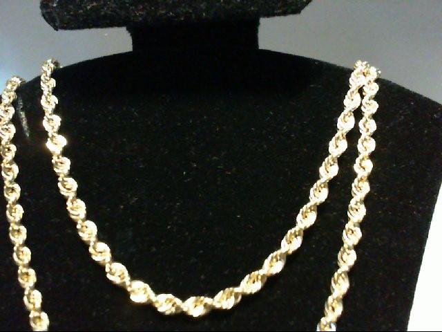 "20"" Gold Chain 14K Yellow Gold 2.7g"