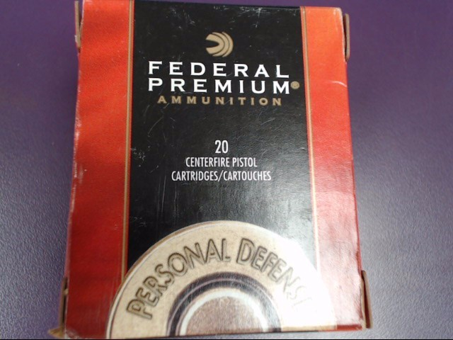 FEDERAL AMMUNITION 357 MAG 158GR HI-SHOK SOFT POINT