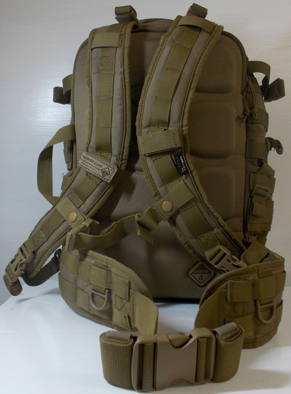 HAZARD 4 SECOND FRONT ROTATABLE BACKPACK COYOTE BROWN TAN