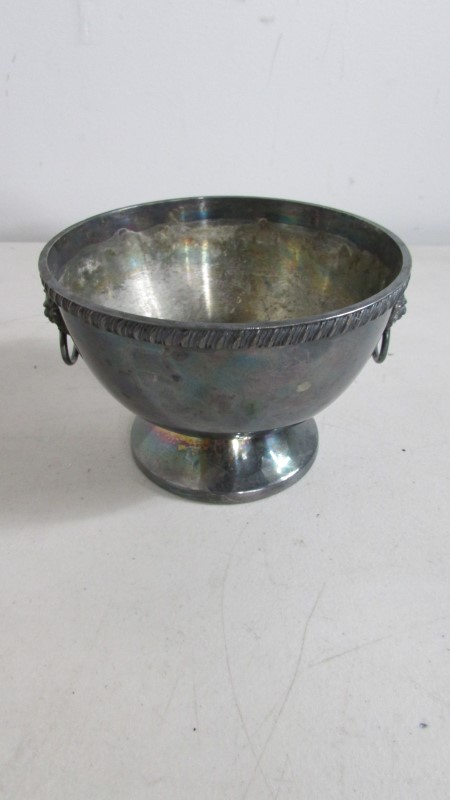 SILVER COLLECTIBLE SERVING TRAY/BOWL/CUPS