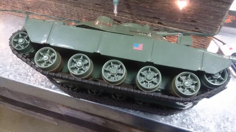 HASBRO GI JOE tank