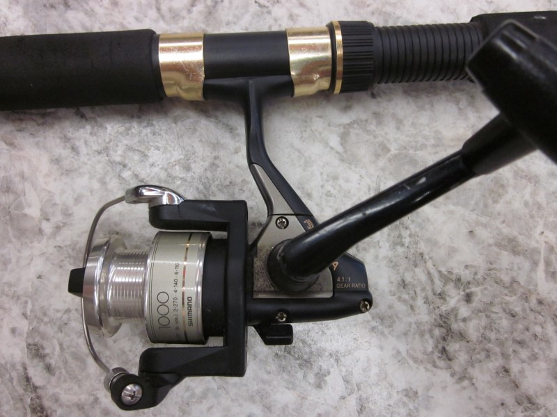 SOUTH BEND FISHING POLE BLACK BE