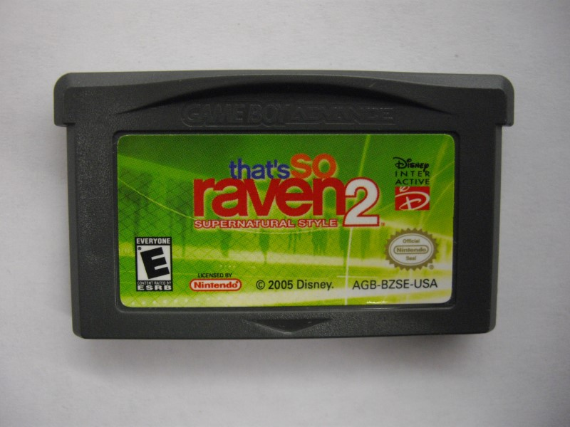 NINTENDO GBA Game THAT'S SO RAVEN 2