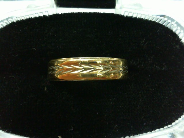 Lady's Gold Wedding Band 10K Yellow Gold 2.8g