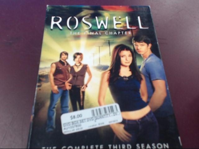 DVD BOX SET ROSWELL SEASON 3