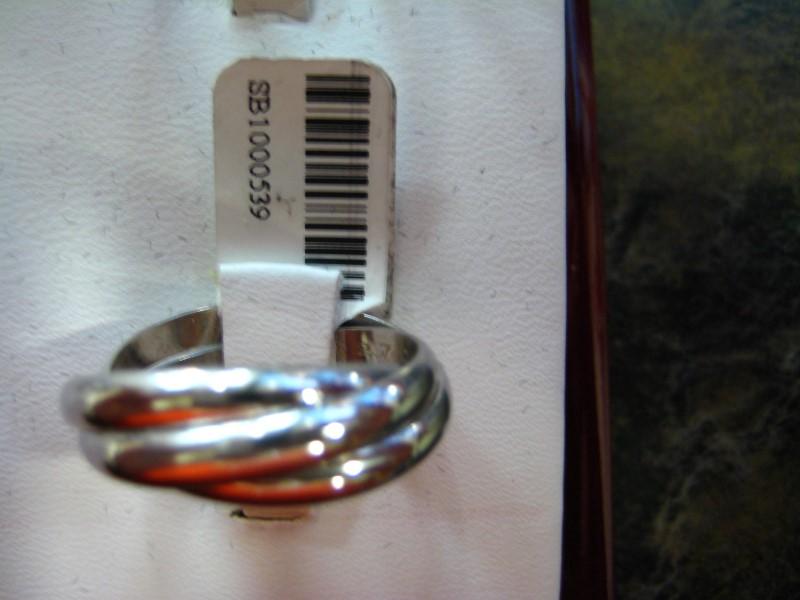 Cartier Lady's Platinum Ring 950 Platinum 11.55g