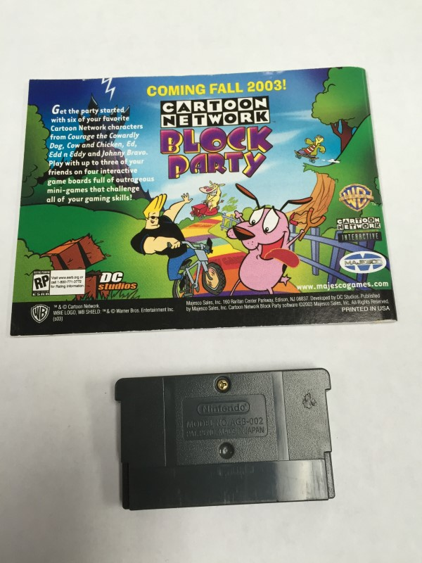 NINTENDO GBA CARTOON NETWORK SPEEDWAY