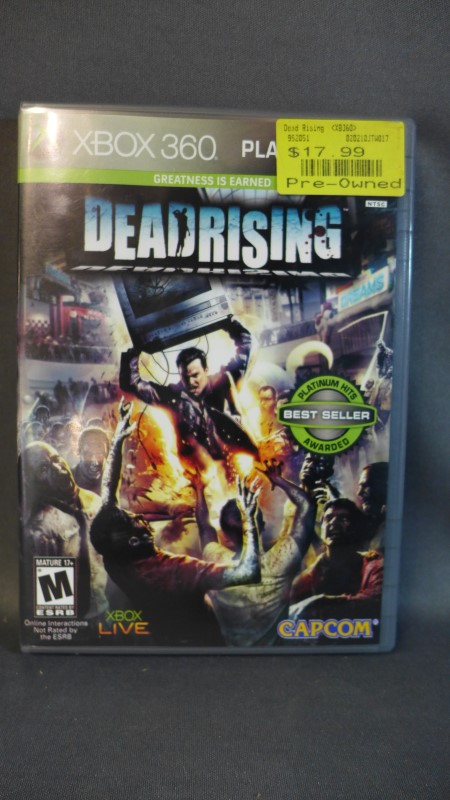 XBOX 360 GAME DEAD RISING