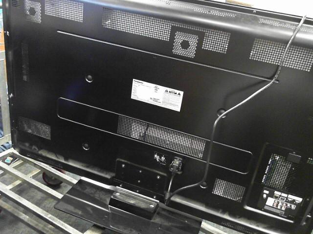 55 3D PANASONIC TV W/R PEG 9 1080p