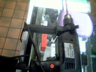 CHICAGO ELECTRIC Hammer Drill 35700