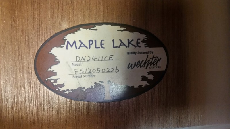 WECHTER MAPLE LAKE DN-2411CE