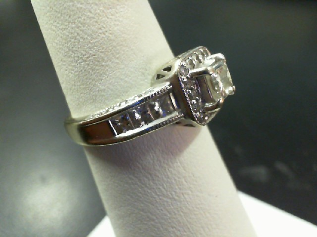 Lady's Gold-Diamond Anniversary Ring 43 Diamonds 2.06 Carat T.W. 14K White Gold