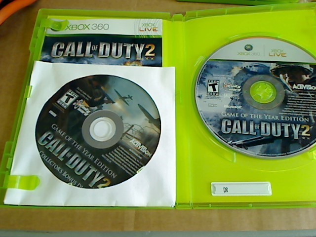XBOX 360 - CALL OF DUTY 2