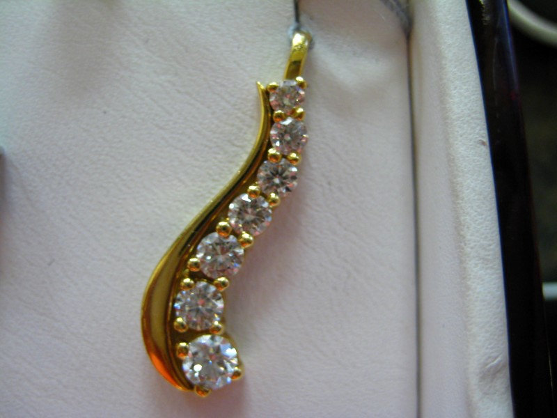 Gold Pendant 18K Yellow Gold 4.46g