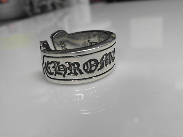 Chrome Hearts Sterling Silver Horseshoe Ring 23.72g