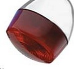 CUSTOM CHROME 26132 RED TURN SIGNAL LENS 86 UP