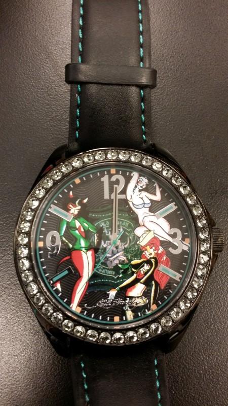 ED HARDY Gent's Wristwatch HS-PU 0540