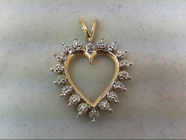 Gold Charm 10K Yellow Gold 1.8g