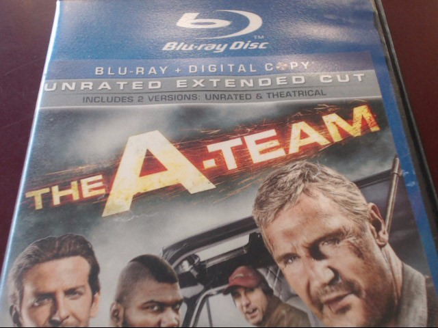 THE A-TEAM - BLU-RAY MOVIE