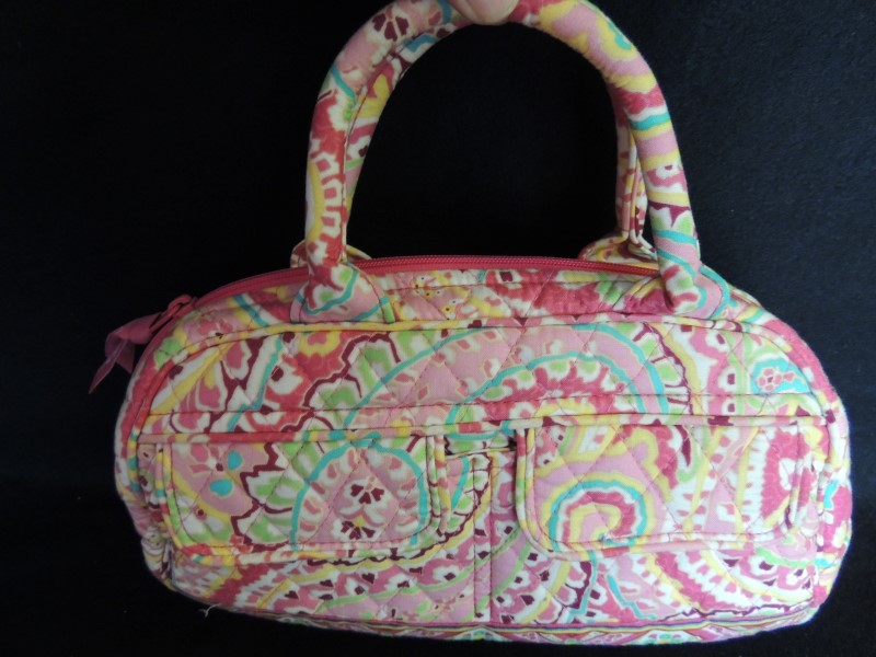 VERA BRADLEY Handbag SMALL PURSE CAPRI MELON