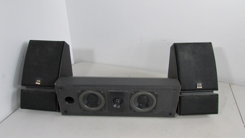 POLK AUDIO MONITOR SERIES with Center Speaker