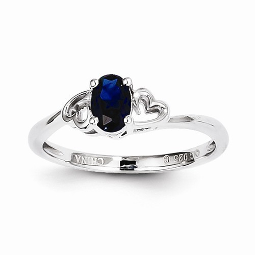 Lady's Silver Ring 925 Silver 1.47g