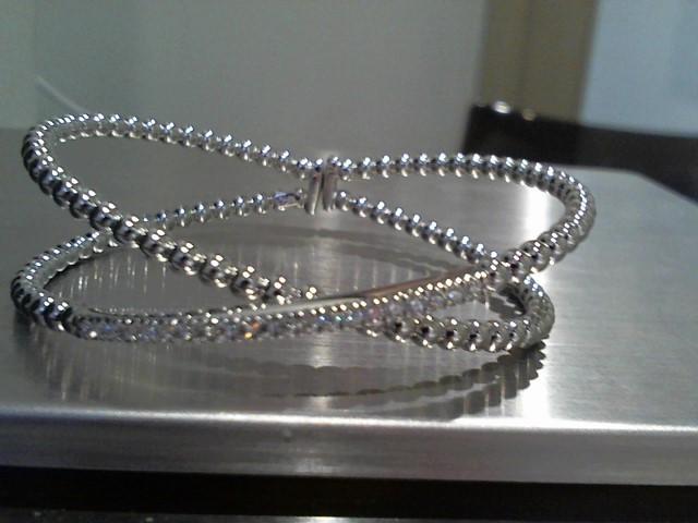 Gold Bracelet 18K White Gold 15.5g