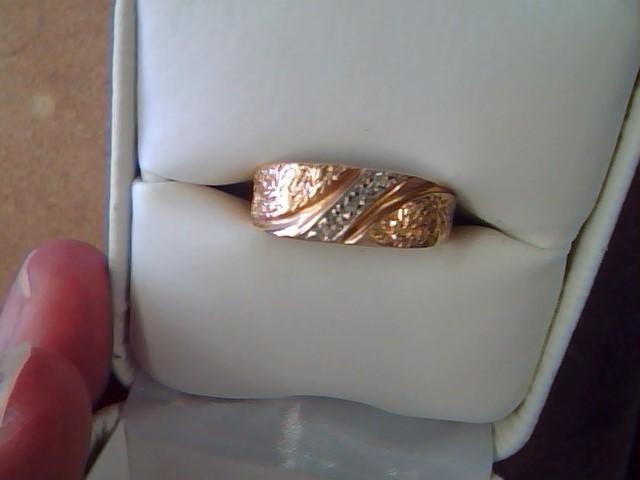 DIAMOND BAND RING JEWELRY , 14KT